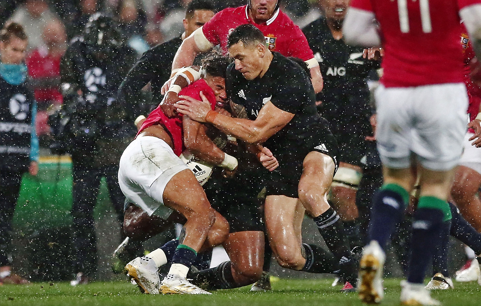 Match Analysis: All Blacks v Lions - Second Test