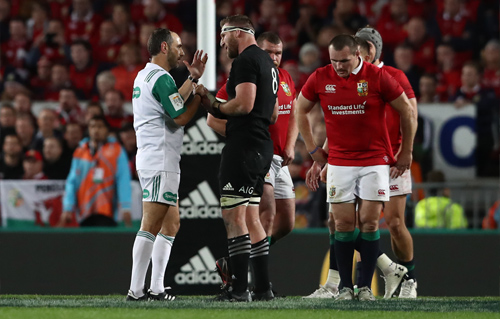 Match Analysis: All Blacks v Lions Third Test