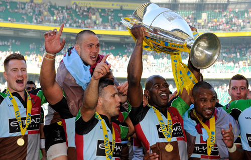 When Harlequins Rose From The Ashes