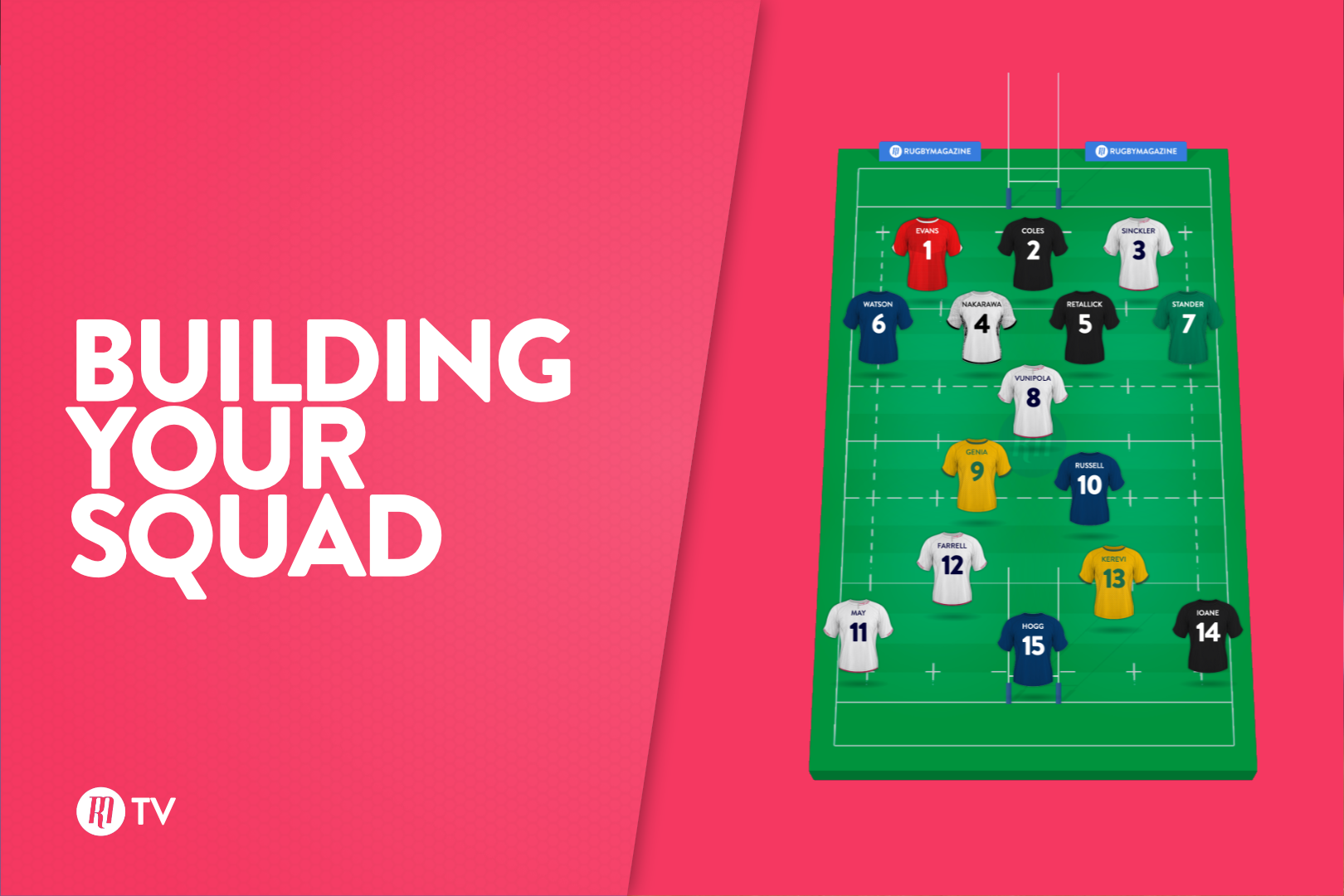 Building Your Squad: Rugby Magazine Fantasy Show