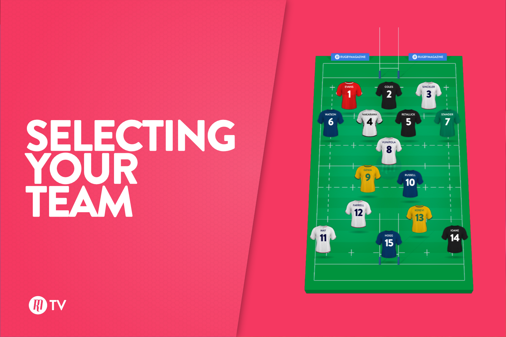 Selecting Your Team: Rugby Magazine Fantasy Show